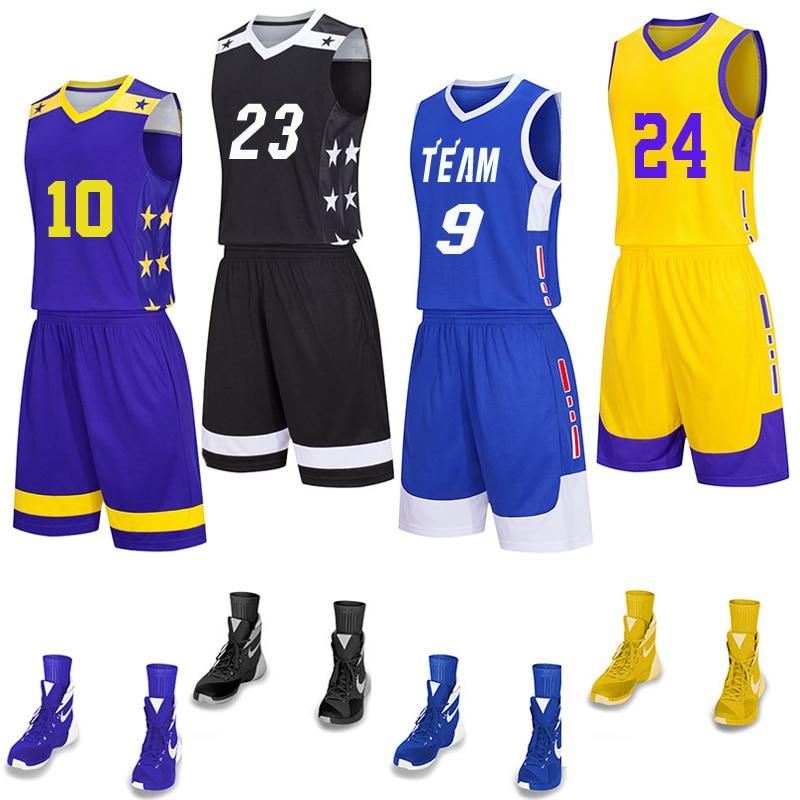 2021 Men's Basketball Jerseys Suit,college Men Basketball Uniforms Sport Kits,usa Team Basket Shirt Shorts Set Breathable Custom To Have A Long Historical Standing