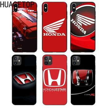 car Honda logo Phone Cover for iphone 12 pro max 11 Pro X XS Max XR 5 6 6S 7 8 Plus Samsung Galaxy S8 S9 S10 S20 Plus Ultra image