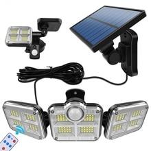 Solar-Lights Wide-Lighting IP65 Outdoor Waterproof 20w LED 120 with Adjustable-Head Angle