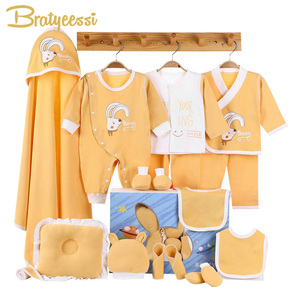 Image 1 - Elephant Newborn Baby Girl Clothes Cotton Print New Born Baby Boy Clothes Infant Clothing Baby Outfit Newborn Set