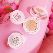 Nude Makeup Air Cushion Sunscreen BB CC Cream Face Concealer Moisturizing Foundation Base Whitening