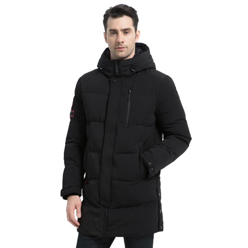 ICEbear 2019 Hot Sale Winter Warm Windproof Hood Men Jacket Warm Men Parkas High Quality Parka Fashion Casual Coat MWD18856I