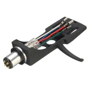 Image 2 - 1 pz stilo a cartuccia magnetica con giradischi Headshell contatti a 4 Pin per giradischi fonografo grammofono LP ago in vinile