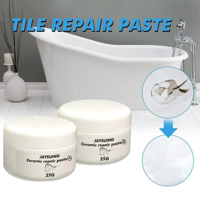 Tile Cracks Repairing SuperPaste 1