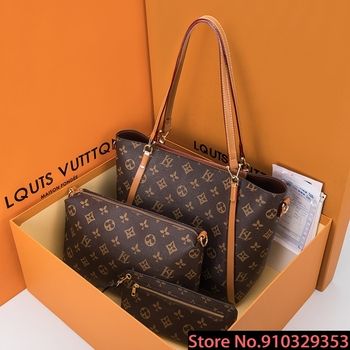 Large Capacity Tote Bag 2020 New Fashion Women Shoulder Handbags Genuine Leather Ladies Crossbody Bag Louis Vuitton Luxury Bags cow leather women handbags 2020 fashion large capacity shoulder messenger bag high quality ladies casual tote louis vuitton bags