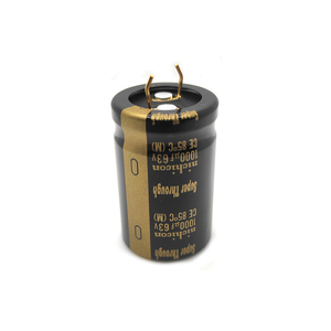 Image 4 - 1pc 6pc 1000UF 63V 22x35mm Nichicon KG Super Through Pitch 10mm 63V/1000uf Gold Foot Super Penetration Electrolytic Capacitor