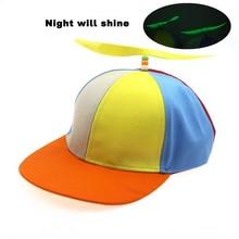 Funny Caps Baseball-Caps Children's Summer Stitching Parent Sunshade-Cap Windmill Girls Hat
