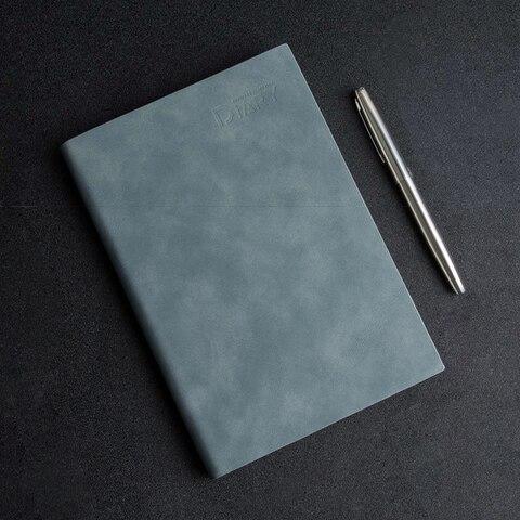 youpin guangbo negocios caderno couro macio