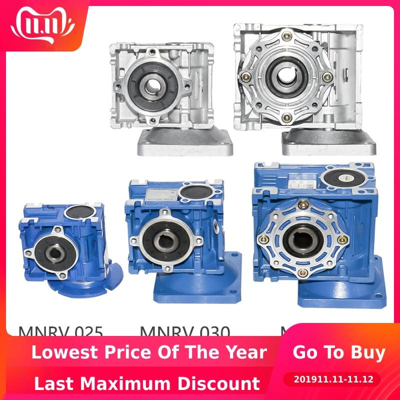 NMRV 025 030 040 Gearbox Reducer Ratio 1/5/7.5/10/15/20/25/30/40/50/60/80/100 High Quality Electric Motor Torque