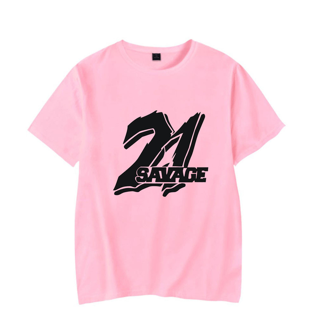 21 SAVAGE THEMED T-SHIRT (25 VARIAN)