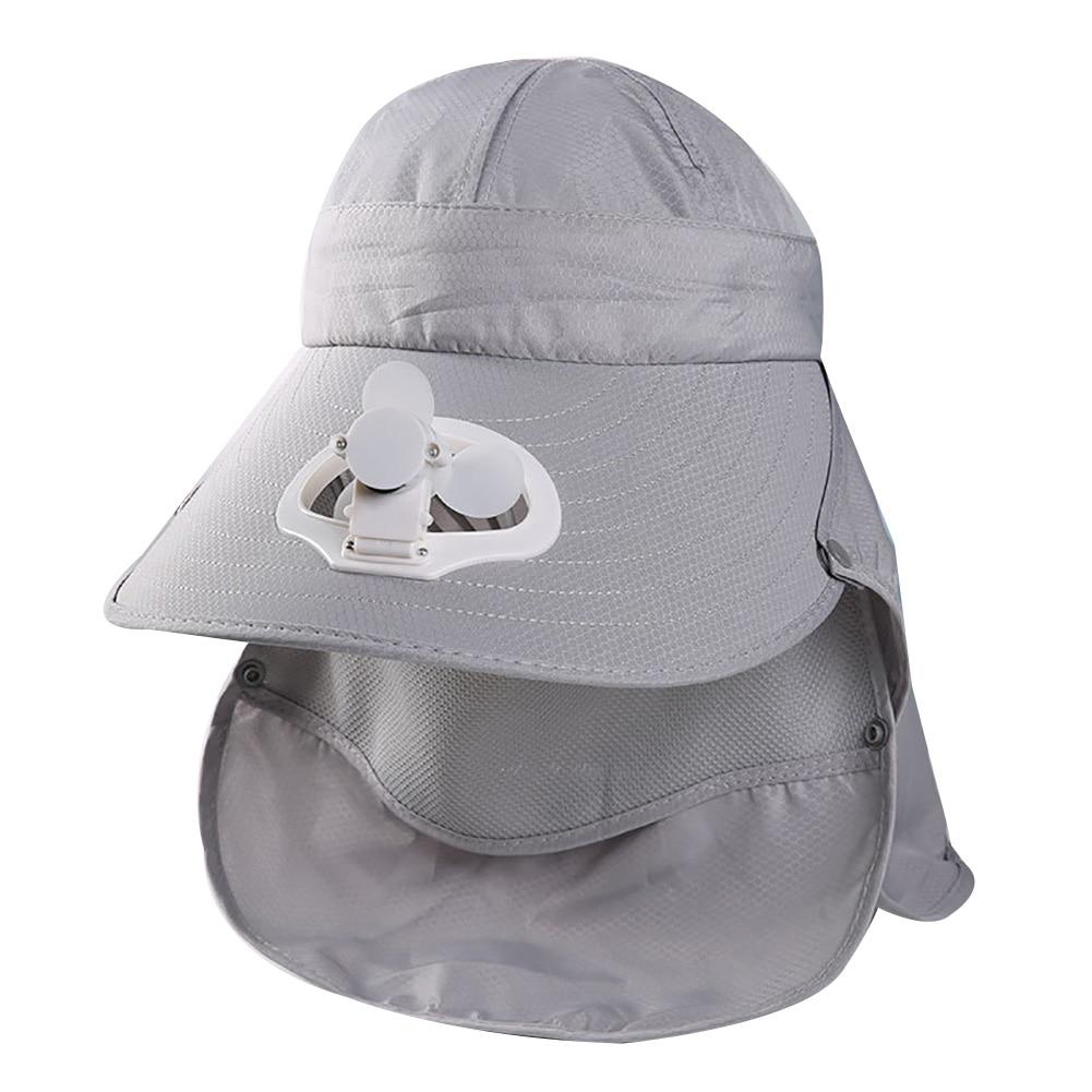 Chapéu destacável para o verão, chapéu anti-sol,
