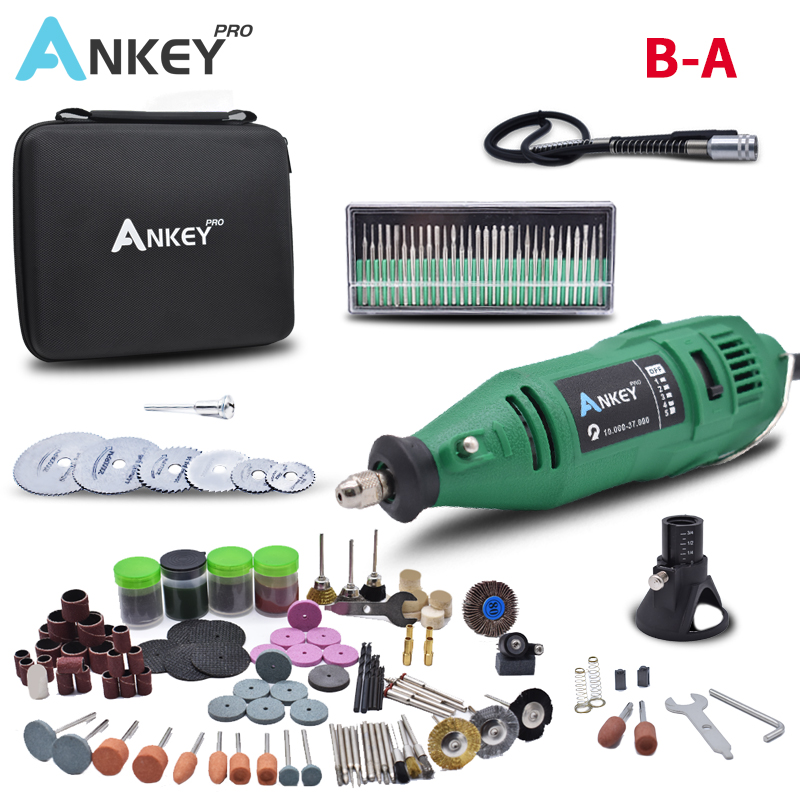 180W  Electric Grinder Mini Toolr Engraving Mini Drill  Tools Electric Pen DIY Engraving Polisher Electric  Multifunction Set