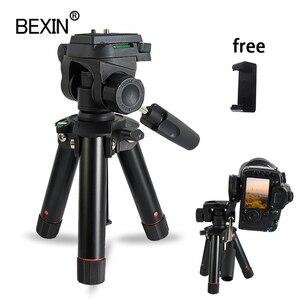 Image 1 - Trípode para cámara de escritorio, mini trípode para teléfono inteligente, soporte flexible de mesa, dslr, para cámara digital de punto