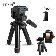 Tripé de câmera desktop mini tripé smartphones suporte do telefone flexível tiro mesa dslr tripé para ponto câmera digital