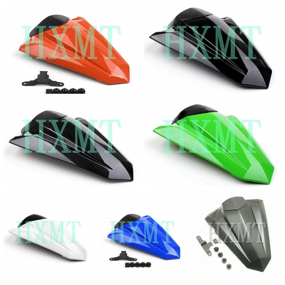 Para Kawasaki Ninja 300 R 250 Z250 EX300 2013-2019, 2013, 2014, 2015, 2016, 2017 verde Pillion asiento trasero cubierta a Solo asiento capucha