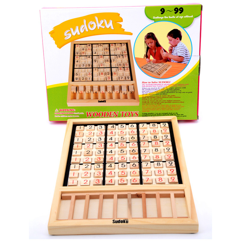 Permalink to Puzzle Game Chess Fad Sudoku Adult Thinking Training Environmentally Wooden Children Intelligence Development Sudoku Game Chess