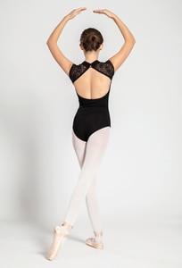 Image 3 - บัลเล่ต์Leotardผู้ใหญ่ 2020 สีดำสบายเต้นรำสวมใส่ผู้หญิงแอโรบิกยิมนาสติกLeotardผู้ใหญ่บัลเล่ต์เต้นรำกระโปรง