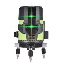 Green Laser Level 360 Degree Cross Line Rotary Level Measuring Instruments 2/ 5 Lines For Construction Auto Line Laser Level aculine ak437g green 2 lines green laser level green ray level