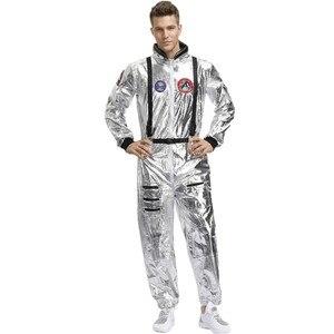 Image 2 - Mono de una pieza para Halloween, astronauta, Alien, astronauta, Cosplay, carnaval, fiesta, pareja