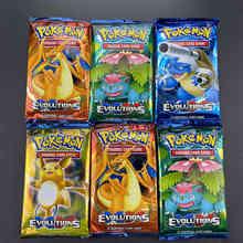 10/20pcs carte Pokemon Sun & Moon GX Team Up inrotto Bond menti unificate evolzioni Booster Box carte collezionabili da collezione gioco