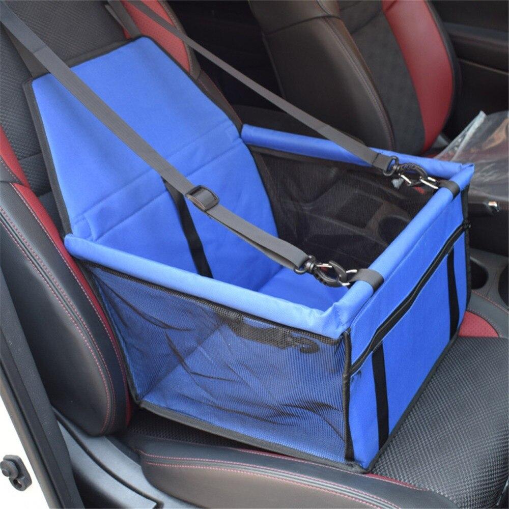 Folding Pet Dog Carrier Pad Waterproof Dog Cat Seat Bag Basket Pet Products Safe Carry House Cat Puppy Bag Dog Car Seat 2