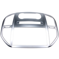 Car Styling 1PCS ABS Matte Interior Console Air Vent Outlet Trim Navigation Cover Trim for Mercedes Benz Vito W447 2014 2018