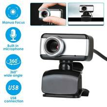 Rotatable usb2.0 hd webcam câmera 1080p com microfone para computadores portáteis computador desktop sem fio bluetooth acessórios câmeras