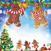 Decorating-Tools Christmas-Tree-Ornaments Soft-Gingerbread New Man Festival Living-Room