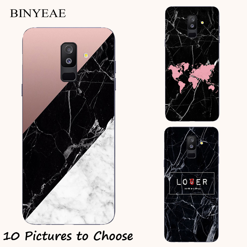Black Marble stone silicone Painting <font><b>Case</b></font> For <font><b>Homtom</b></font> S7 S8 S12 <font><b>S16</b></font> HT30 HT37 HT50 HT70 Pro Phone Printed Cover image
