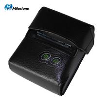 Milestone Bluetooth Thermal Printer receipt bill 58MM Mini USB Portable Wireless ticket Android IOS Pocket Printer P10