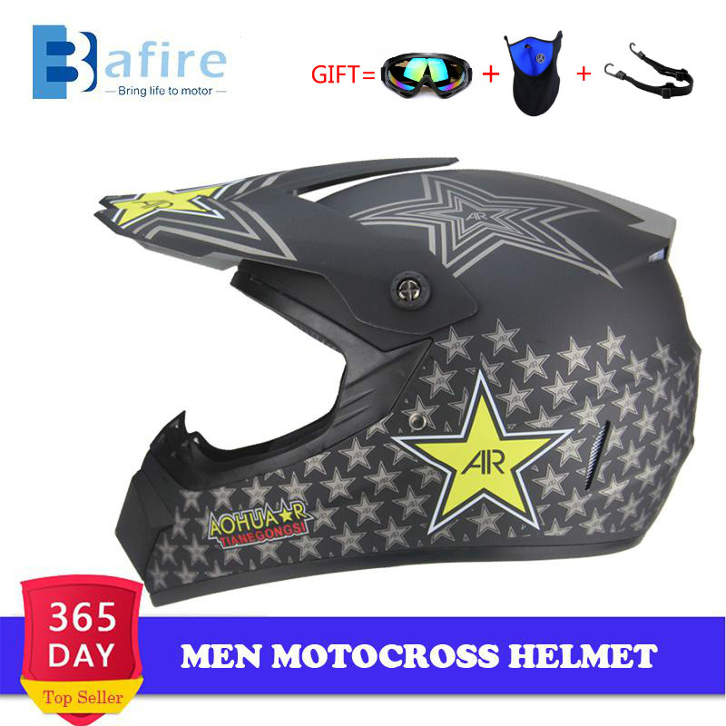 Motocross-Helmet Dirt-Bike Capacete-De-Moto-Casco Off-Road Dh Mtb Atv Professional Men