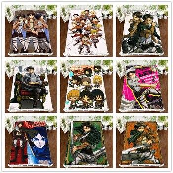 Anime Manga Shingeki no Kyojin Attack on Titan Bed Sheet 150*200cm Bedsheet