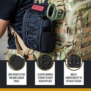 Image 3 - Onetigris primeiros socorros saco médico pacote kit médico desprender rápido emt/primeiros socorros bolsa tático edc airsoft trauma bolsa