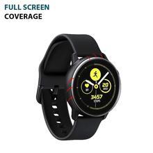 3 шт., ультратонкая Защитная пленка для samsung galaxy watch Active 2, 40 мм, 44 мм, защитная пленка для экрана