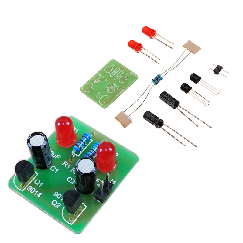 DIY Multi Harmonic Oscillator Scintillator Module DIY Electronic Production Bistable Training Kit Accessory