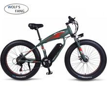 """Электрический велосипед 26x4,"""" 27 скоростей, электрический велосипед 48 в 13 Ач, литиевая батарея, электрические горные велосипеды 500 Вт, мотор для электровелосипеда, powerfu"""