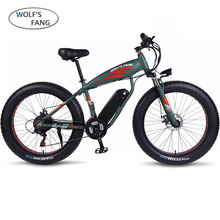 Electric Bike Aluminum alloy 21speed Fat Electric Bicycle 48V 500w 13AH USB 26x4.0 EBike Lithium Battery Electric Mountain Bikes