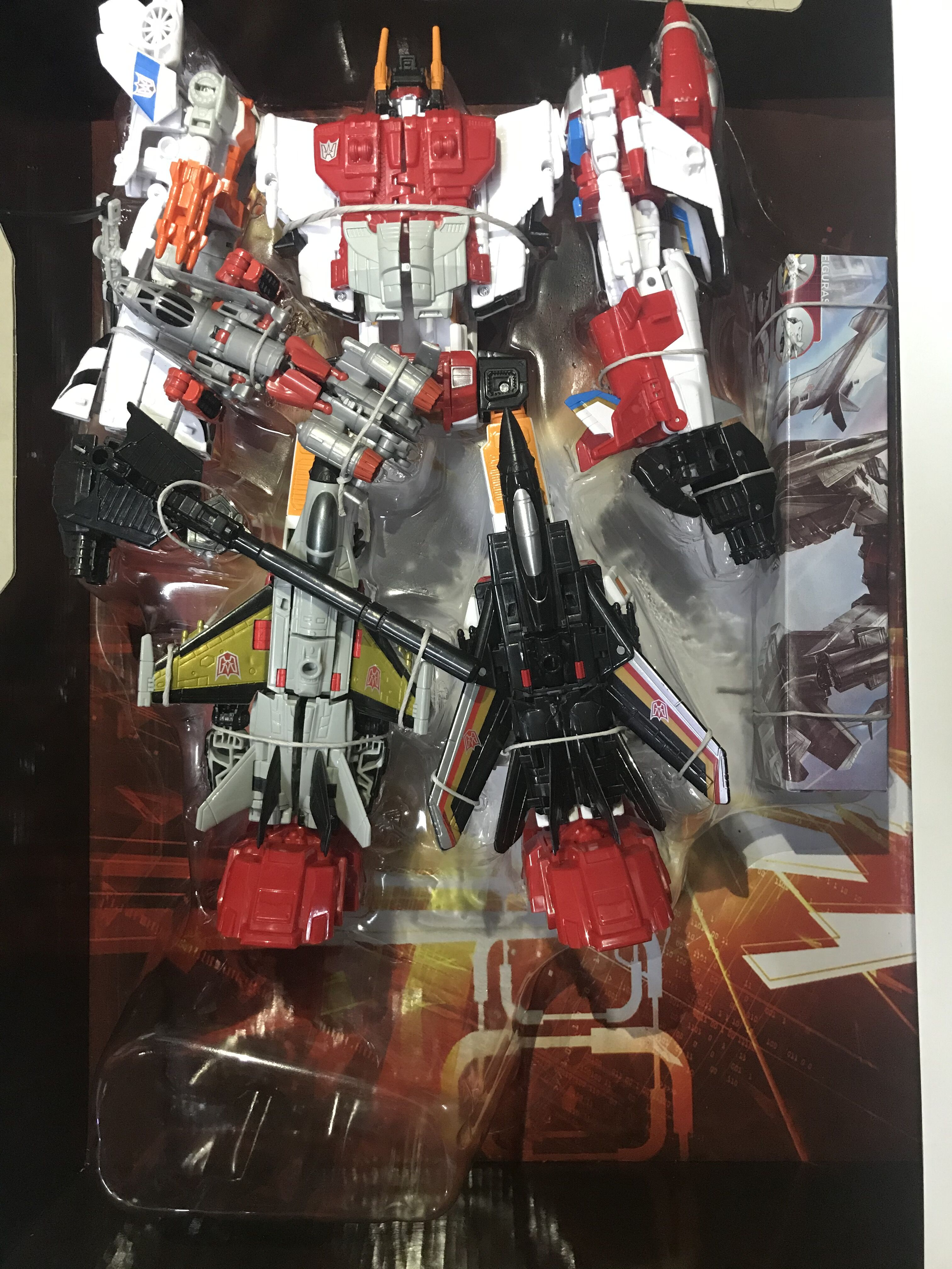 HZX Transformation Superion H-903 H903 Oversize IDW 5IN1 Combination NEW Upgrade Version Action Figure Robot Toys With Box
