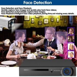 Image 4 - Nhận Dạng Khuôn Mặt H.265 + 8CH 5MP HD POE NVR Kit Camera Quan Sát Hệ Thống An Ninh 5MP AI Camera IP Ngoài Trời P2P Video giám Sát Bộ HDD 2TB
