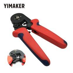 Szczypce zaciskowe YIMAKER zestaw 0.25-6/10mm samonastawne narzędzie do zaciskania przewodów 0.08-10 przewód ciśnieniowy szczypce do zaciskania rur