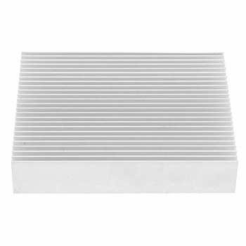 Aluminiowy radiator trwały radiator procesora dla procesora dla routera dla płyty głównej dla PCB dla wzmacniacza dla zasilacza dla modułu tanie i dobre opinie NONE CN (pochodzenie) BAMBOO