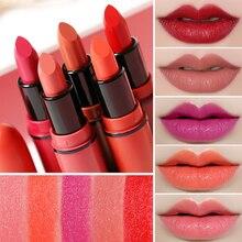 NOVO 5 Colors Matte Bullet Lipstick Waterproof Long-Lasting Velvet Lipstick Easy