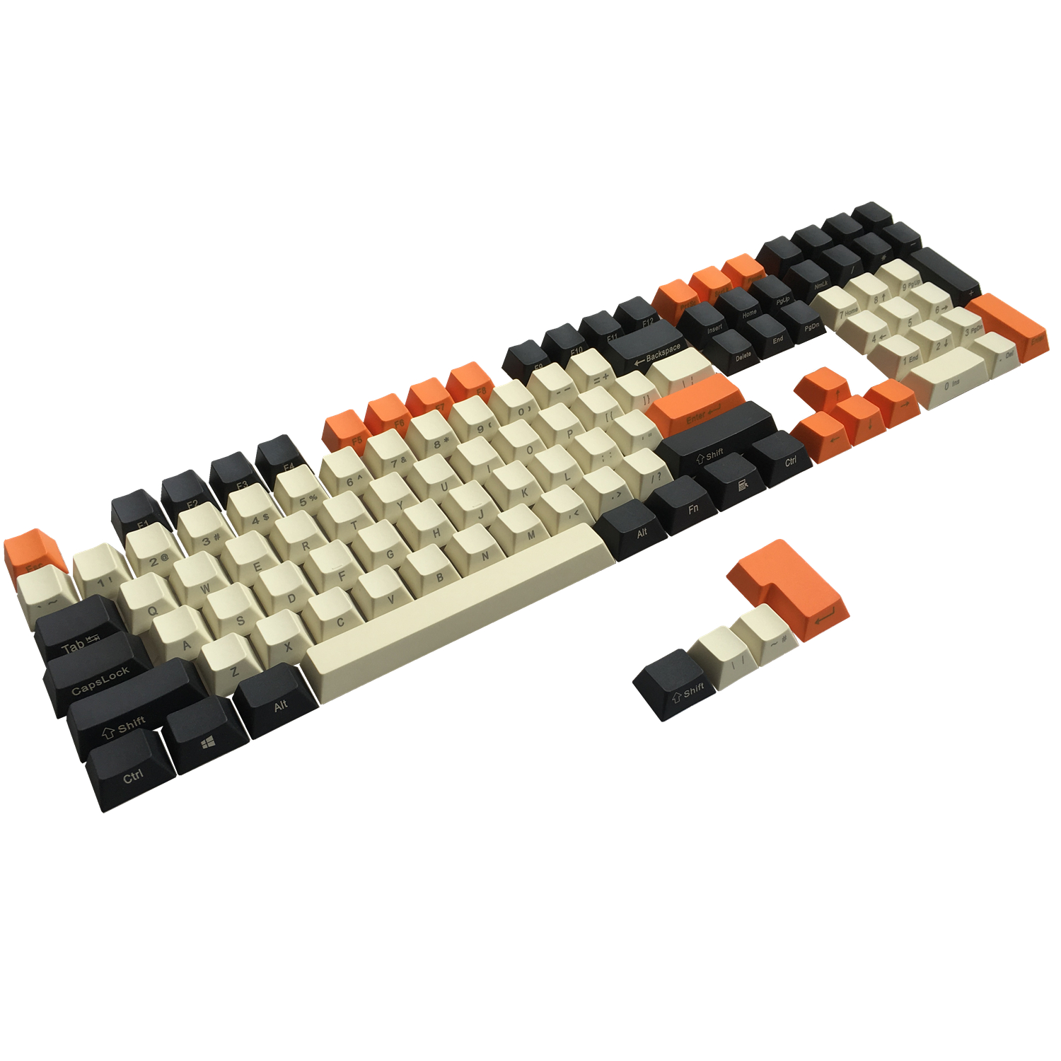 PBT Carbon keycaps Side Print ANSI ISO Cherry MX Keycap Set For 60%/<font><b>TKL</b></font> 87/104/108 MX <font><b>Mechanical</b></font> <font><b>Keyboard</b></font> Fit Anne Akko X Ducky image