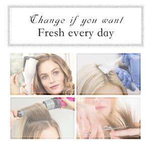 Image 5 - JONRENAU peluca largo sintético con flequillo de raíz oscura, cabello marrón degradado, pelucas de alta calidad con ondas naturales para mujeres blancas/negras