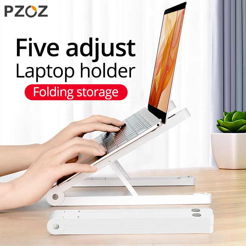 PZOZ Laptop Stand Holder For MacBook Pro Notebook Tablet Portable Adjustable Foldable Bracket For iPad MacBook Laptop Universal