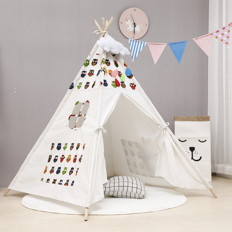 Teepee Tents For Slumber Parties & Reading Nooks