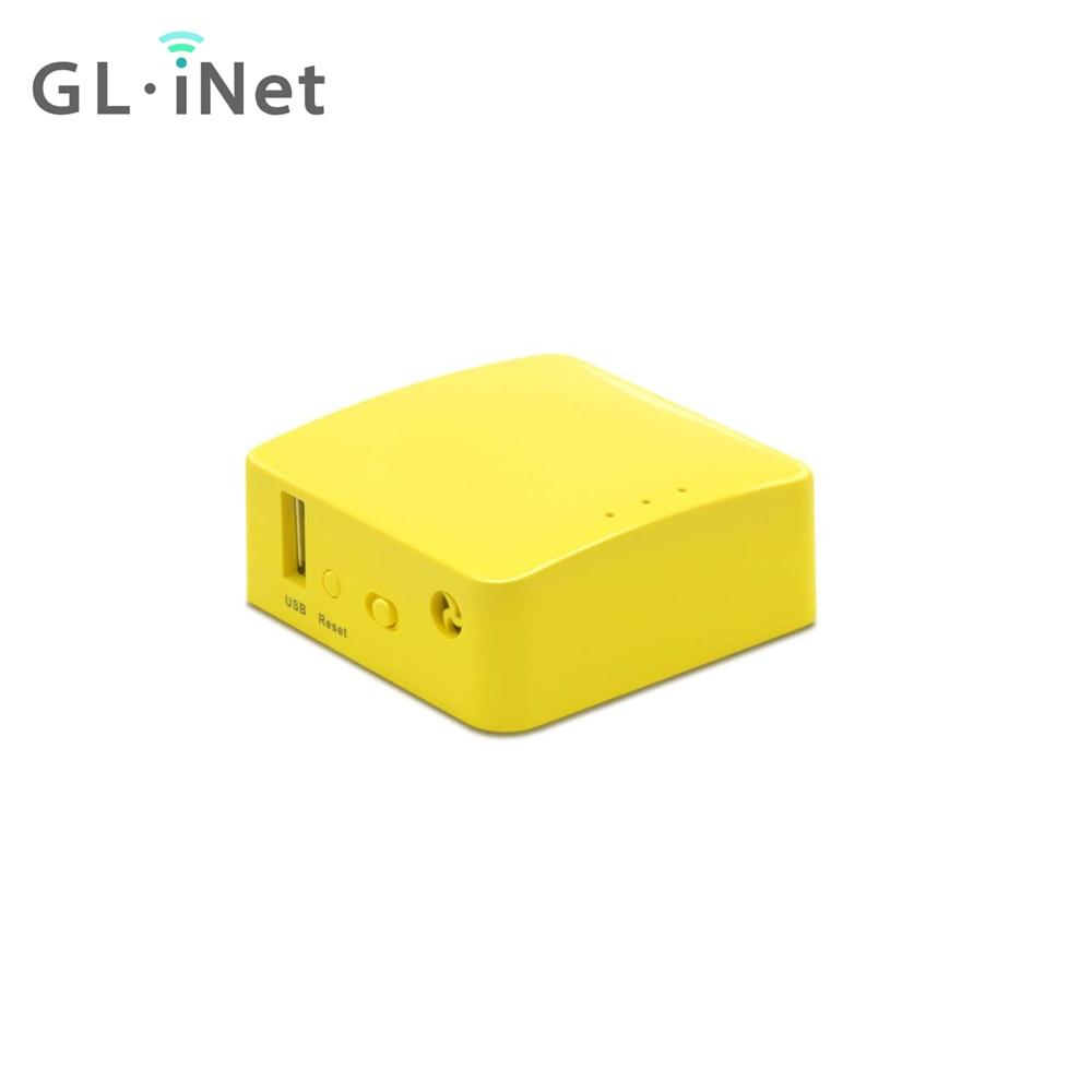 Glinet GL-MT300N-V2 mini viagem portátil roteador sem fio repetidor ponte repetid 300mbps 128mb ram openvpn cliente usb fácil configuração
