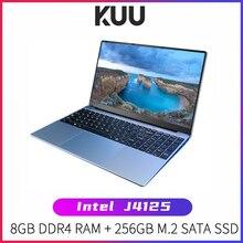 KUU A10 Laptop 15 6  FHD 1920x1080 IPS Intel Celeron J4125 8GB DDR4 RAM 256GB M 2 SSD Windows 10 Intel Ultra HD Graphics 600