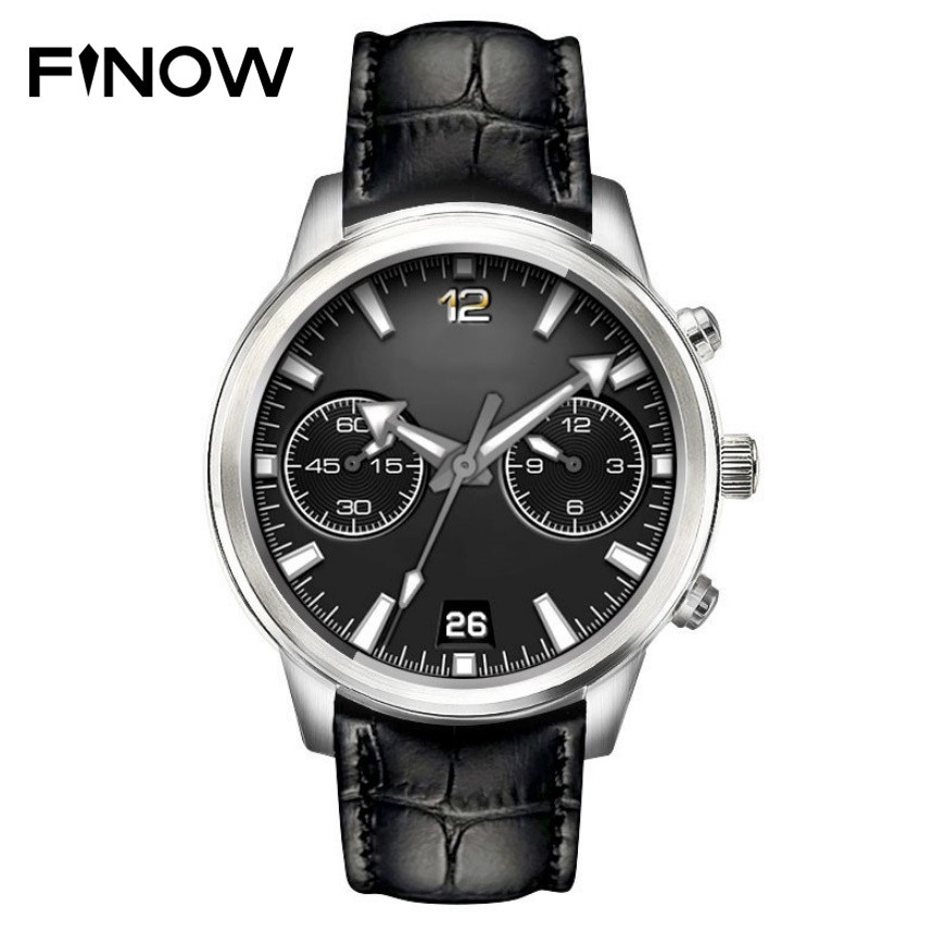 Finow X5 LEM5 Pro GPS Smartwatch Waterproof MTK6580 3G SIM Card WIFI Bluetooth Watch For IOS   Android 5.1 Smartwatch