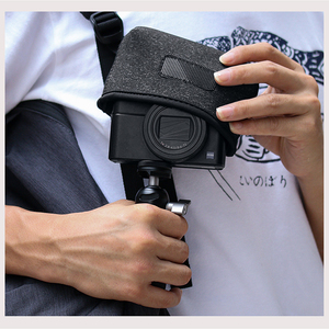 Image 5 - حقيبة للحمل لكاميرا الفيديو المصغرة طراز RX100 السابع من كانون G7X Mark III ملحقات كاميرا SLR بدون إطار